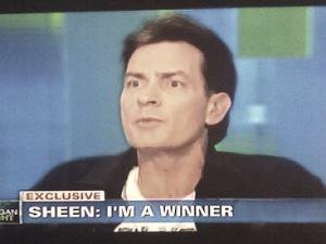 Charlie Sheen Interview